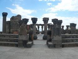 Храм Звартноц, Ереван